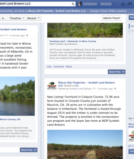 Facebook Autopost Listings