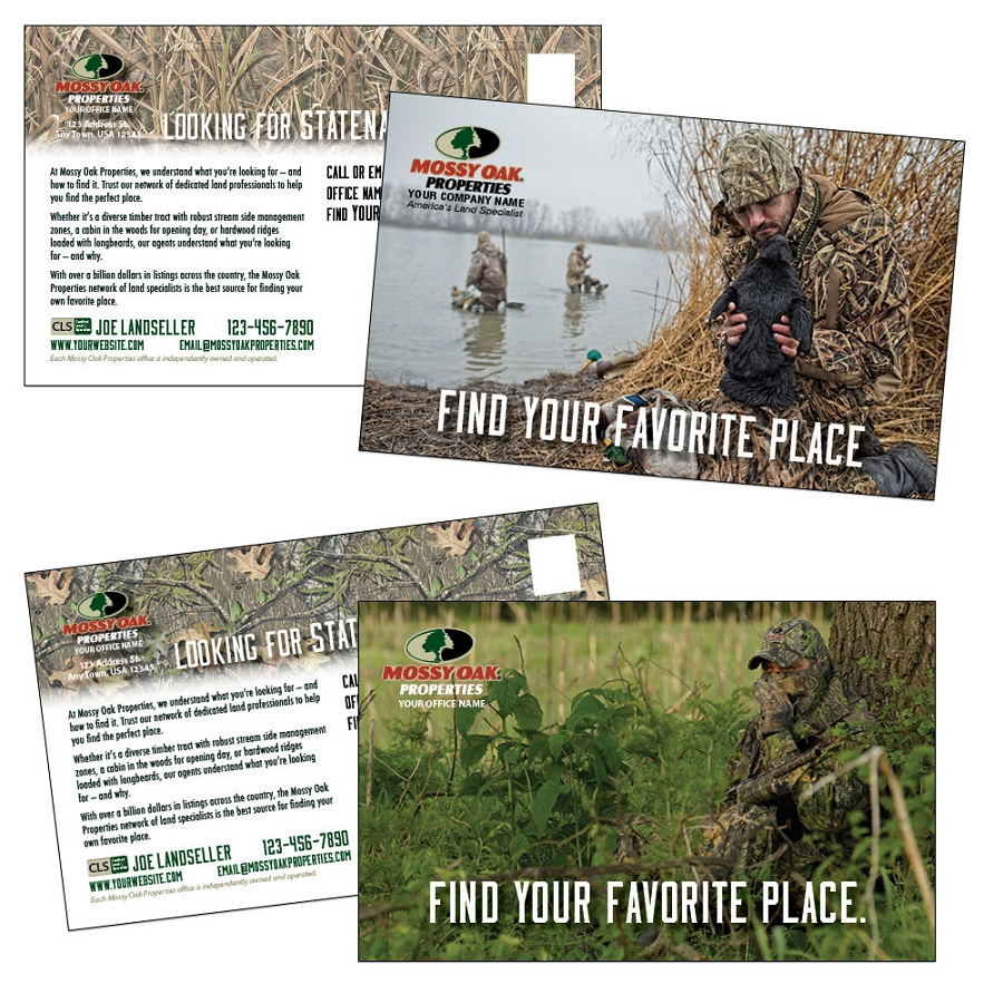 You'll make a big impression while you save big on these customizable postcards.