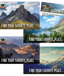 Customize It! Semi-Designed Postcards: Find Your Favorite Place