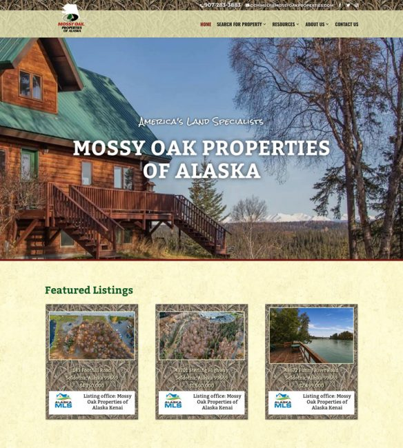 MOP of Alaska Website