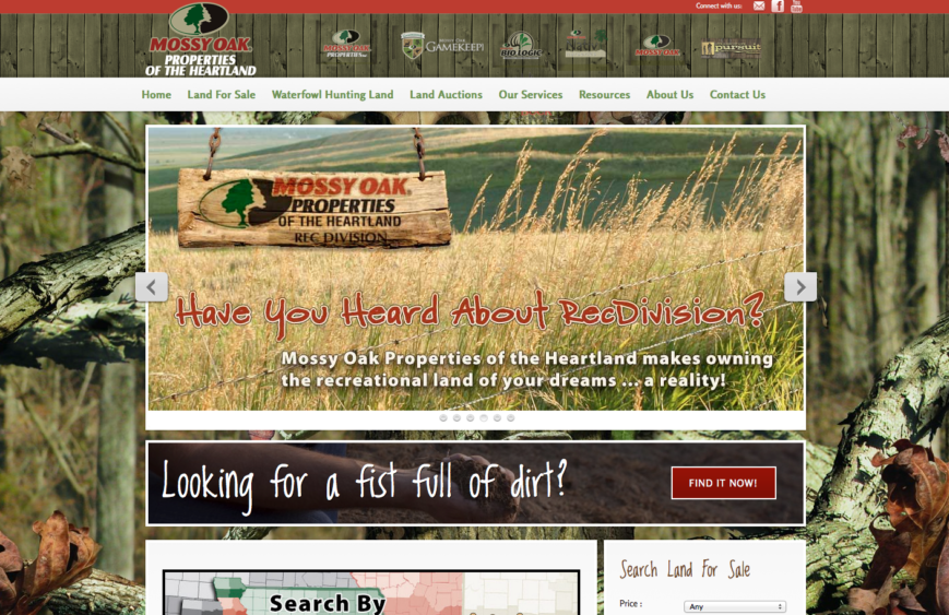 MOP of the Heartland Website
