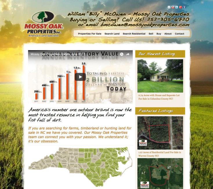 MOP Agent Website for Billy McOwen